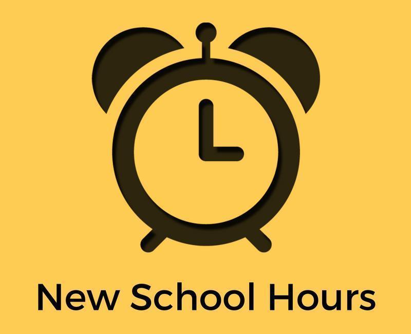 New School Hours For Jefferson Elementary   9:10 - 3:40 Featured Photo