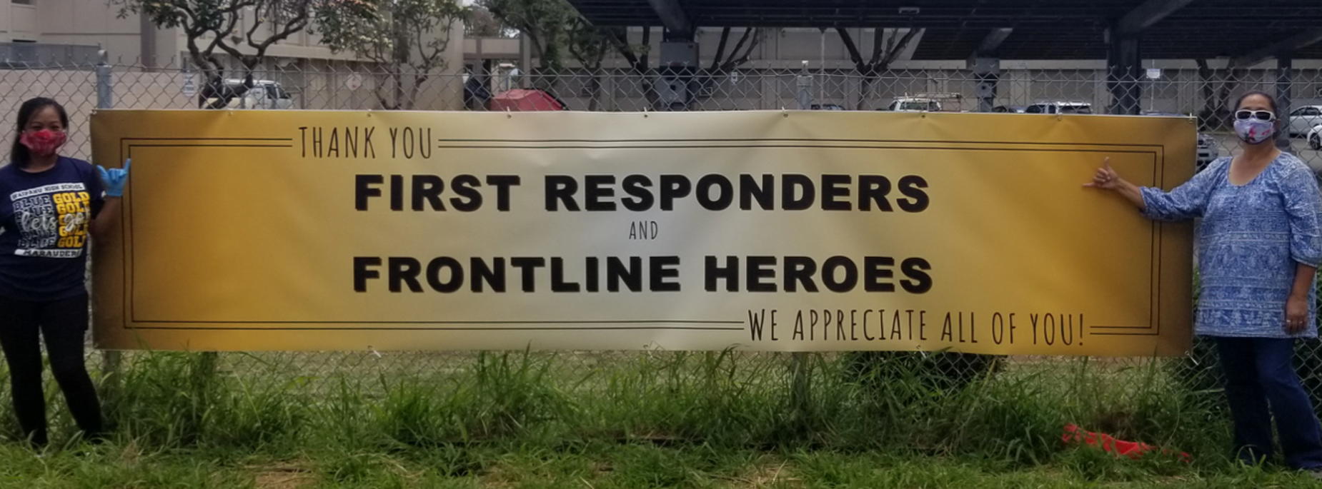 Thank you First Responders and Frontline Heros