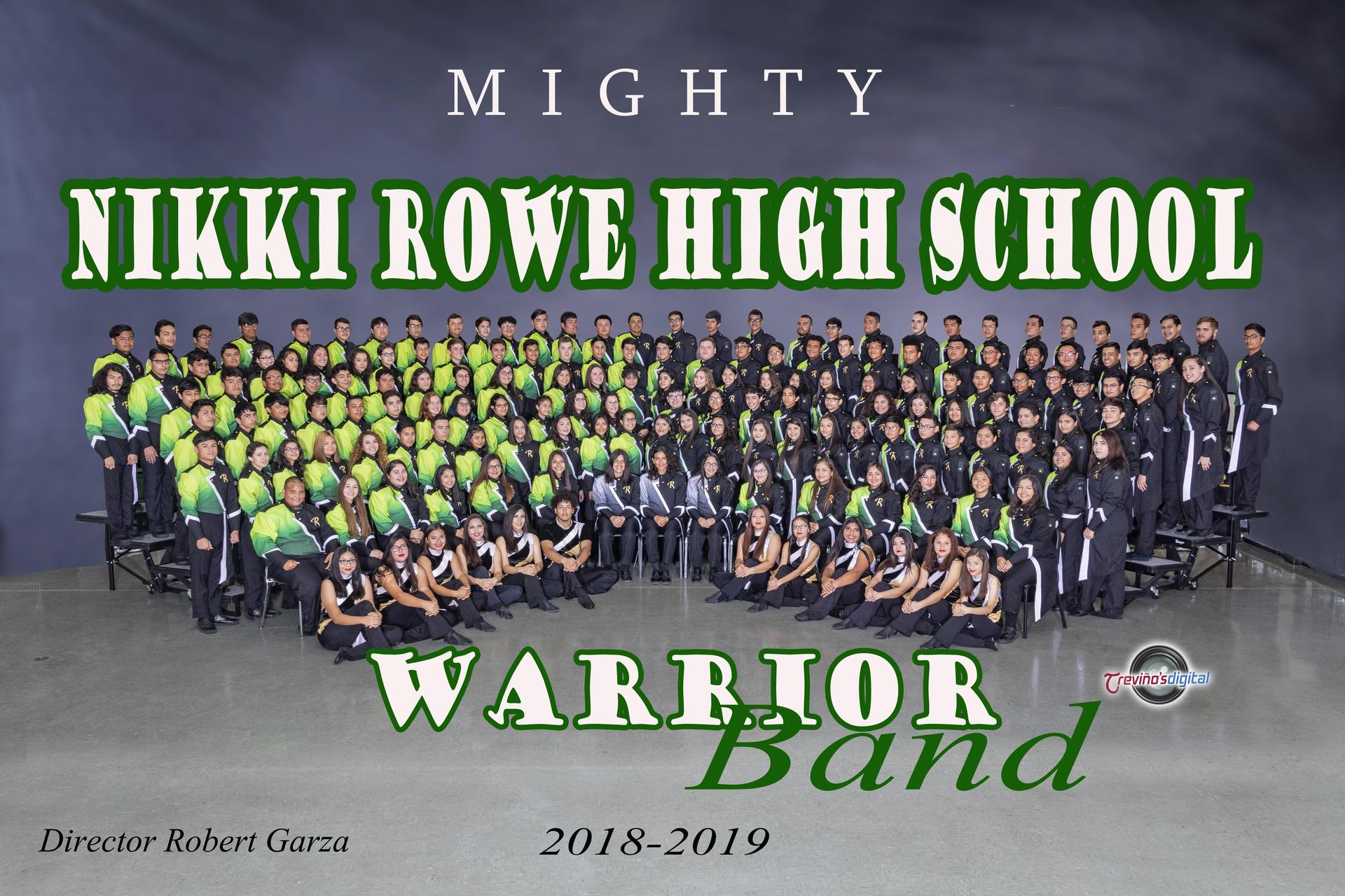 2018-2019 Nikki Rowe Warrior Band
