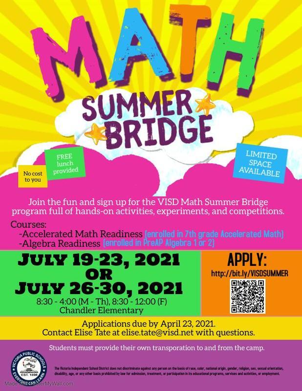 math summer bridge