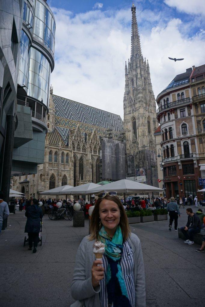 Mrs. Summers in Vienna, Austria