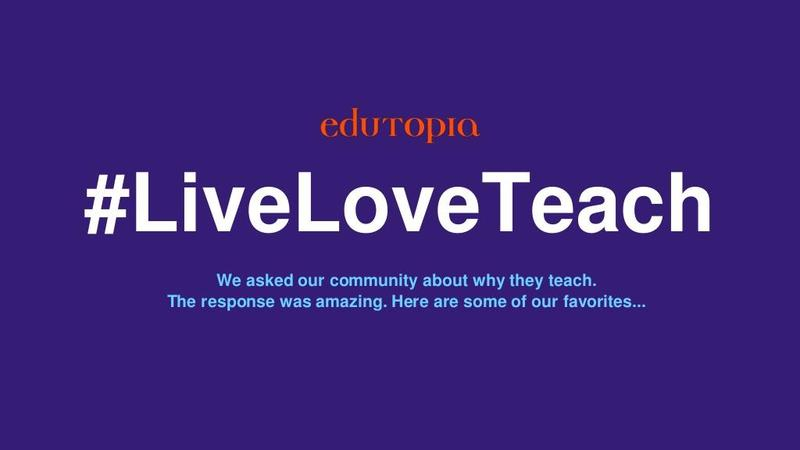 #LiveLoveTeach Featured Photo