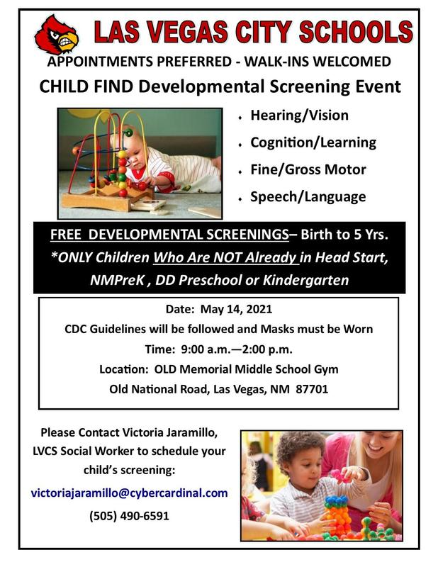 Child Find Event