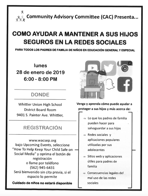 Community Event Spanish
