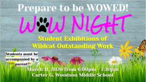 March WOW Night