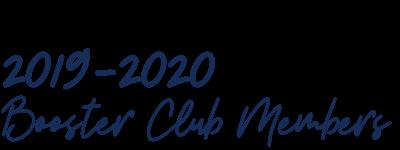 Booster Club Members