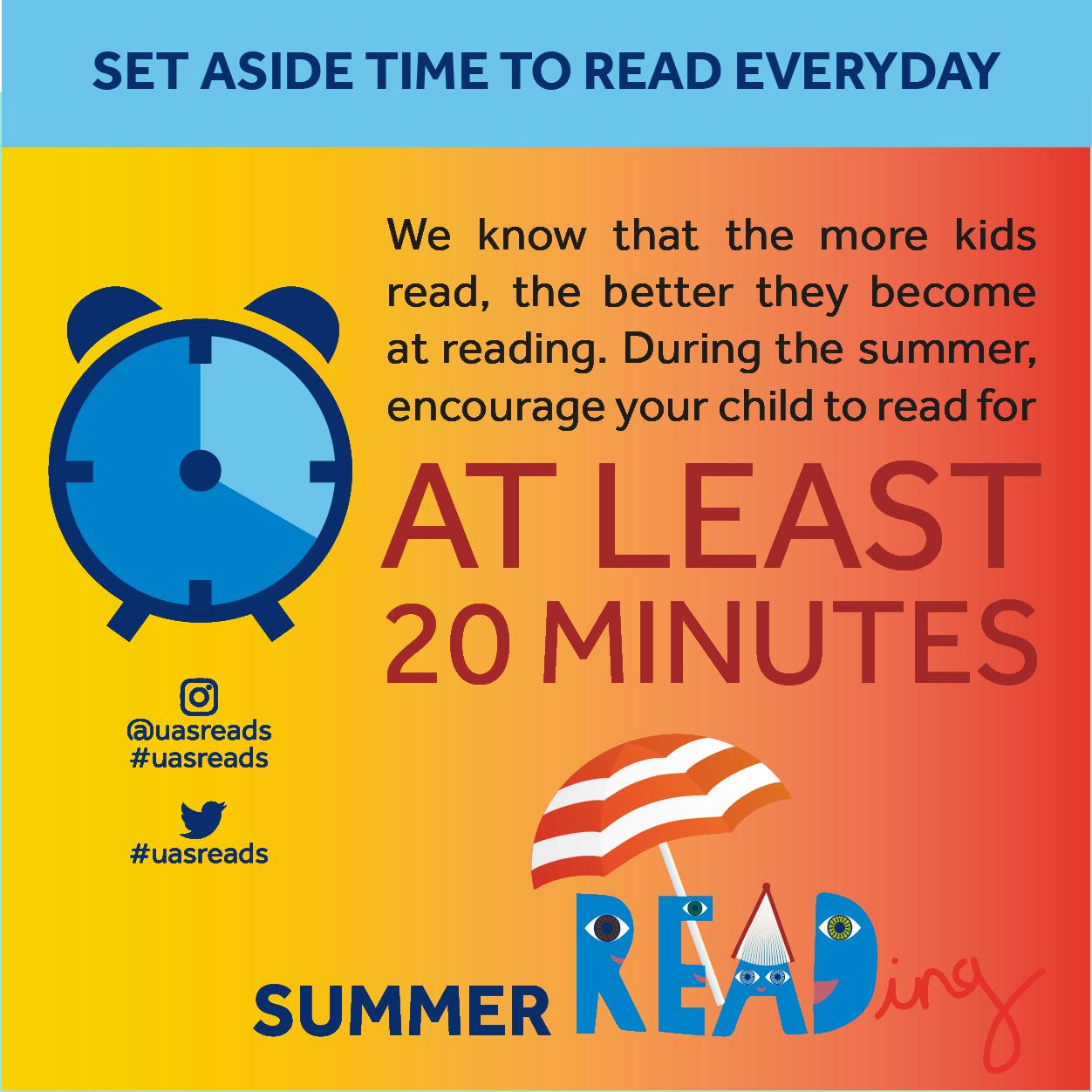 Read 20 minutes