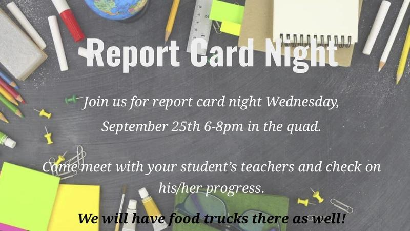 Report Card Night! Featured Photo