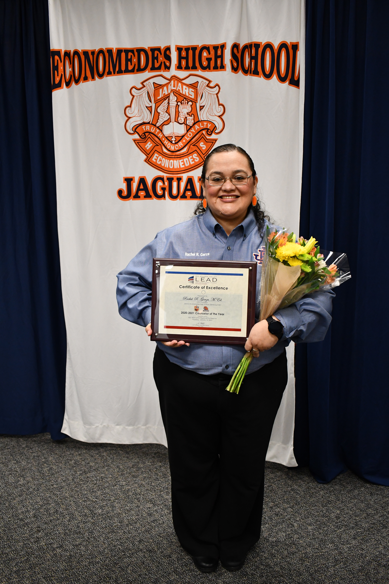 RGV Lead Counselor of the Year 2020 - 2021