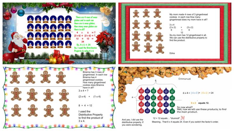 Christmas themed math problems