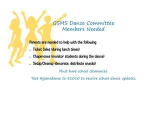 Dance Help Needed
