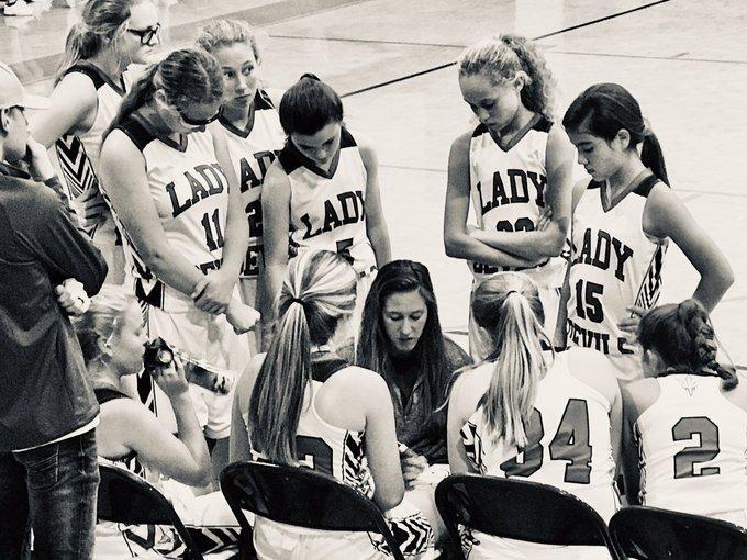 GMS girls basketball team