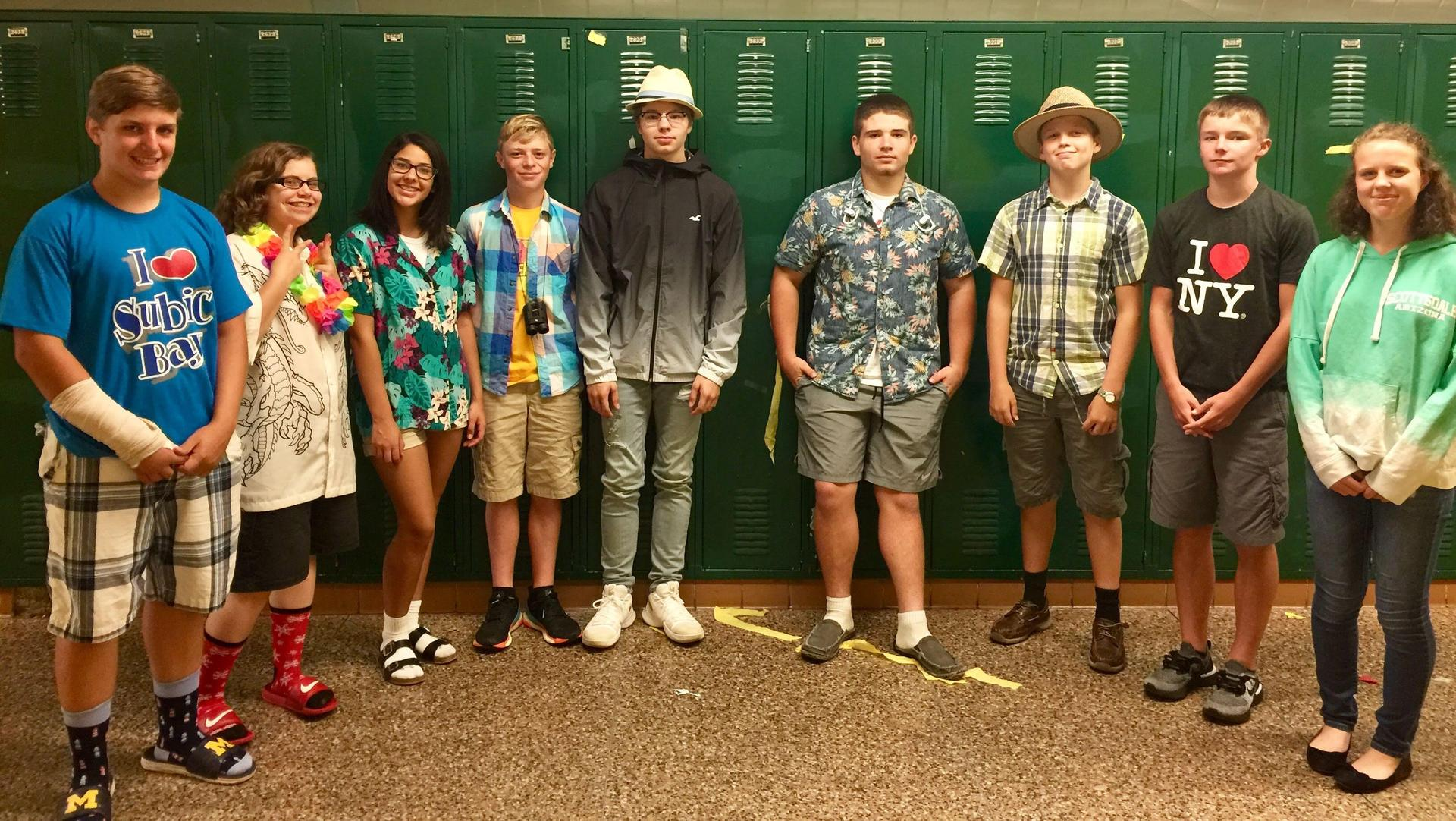 4th hour 'Tourists' for HoCo 2018