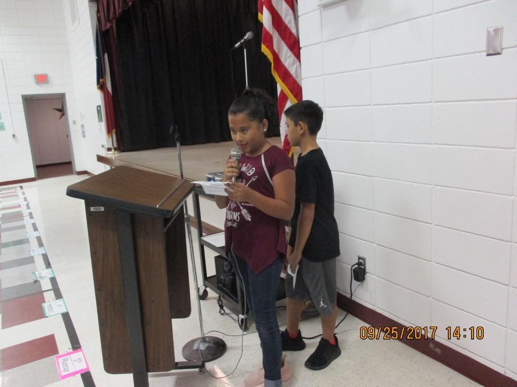 Reciting the Pledge of Allegiance