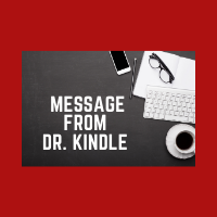 Message from Dr. Kindle - June 12, 2020 Thumbnail Image
