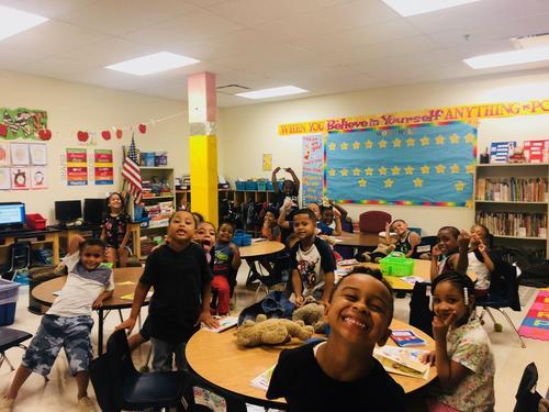 Having Fun in First Grade!