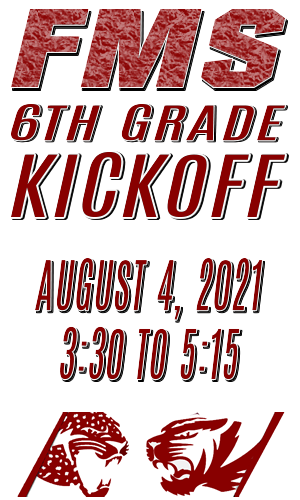 Sign up for the 6th Grade Kickoff (08/04/2021) Featured Photo
