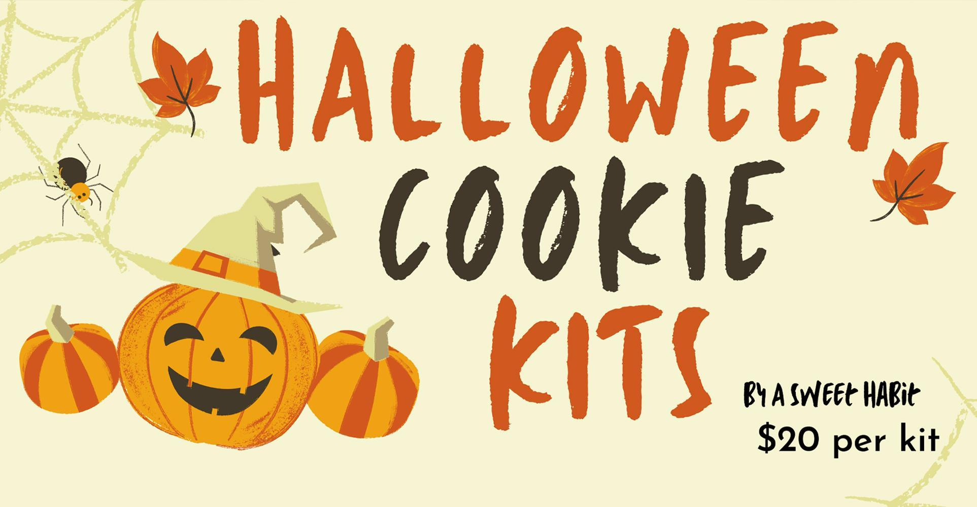 Halloween Cookie Kits Now Available! Orders Due By October 21!
