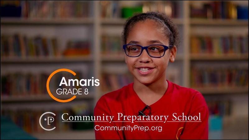 Amaris, Grade 8, Community Prep