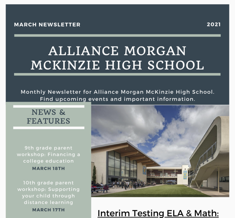 March Newsletter Thumbnail Image