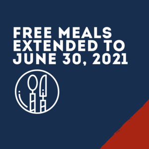 Free Meals Deadline Extended