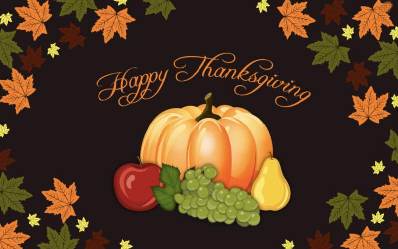 School Closed November 26 & 27 for Thanksgiving. No clases virtuales 26 y 27 de Noviembre por accion de gracias Thumbnail Image