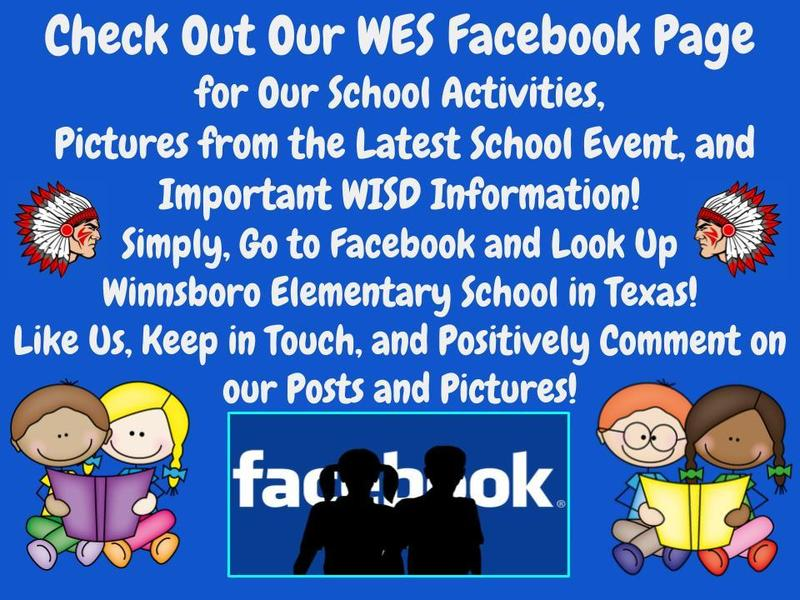 WES Facebook Page Information 2018