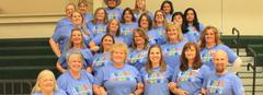 Teacher support of Autism Awareness