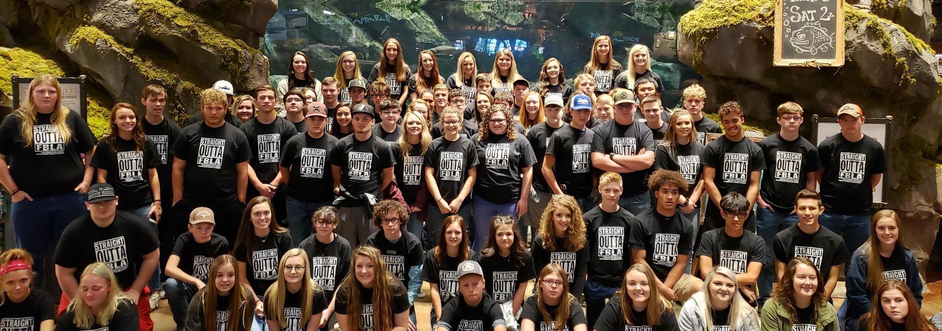 FBLA students visit Bass Pro