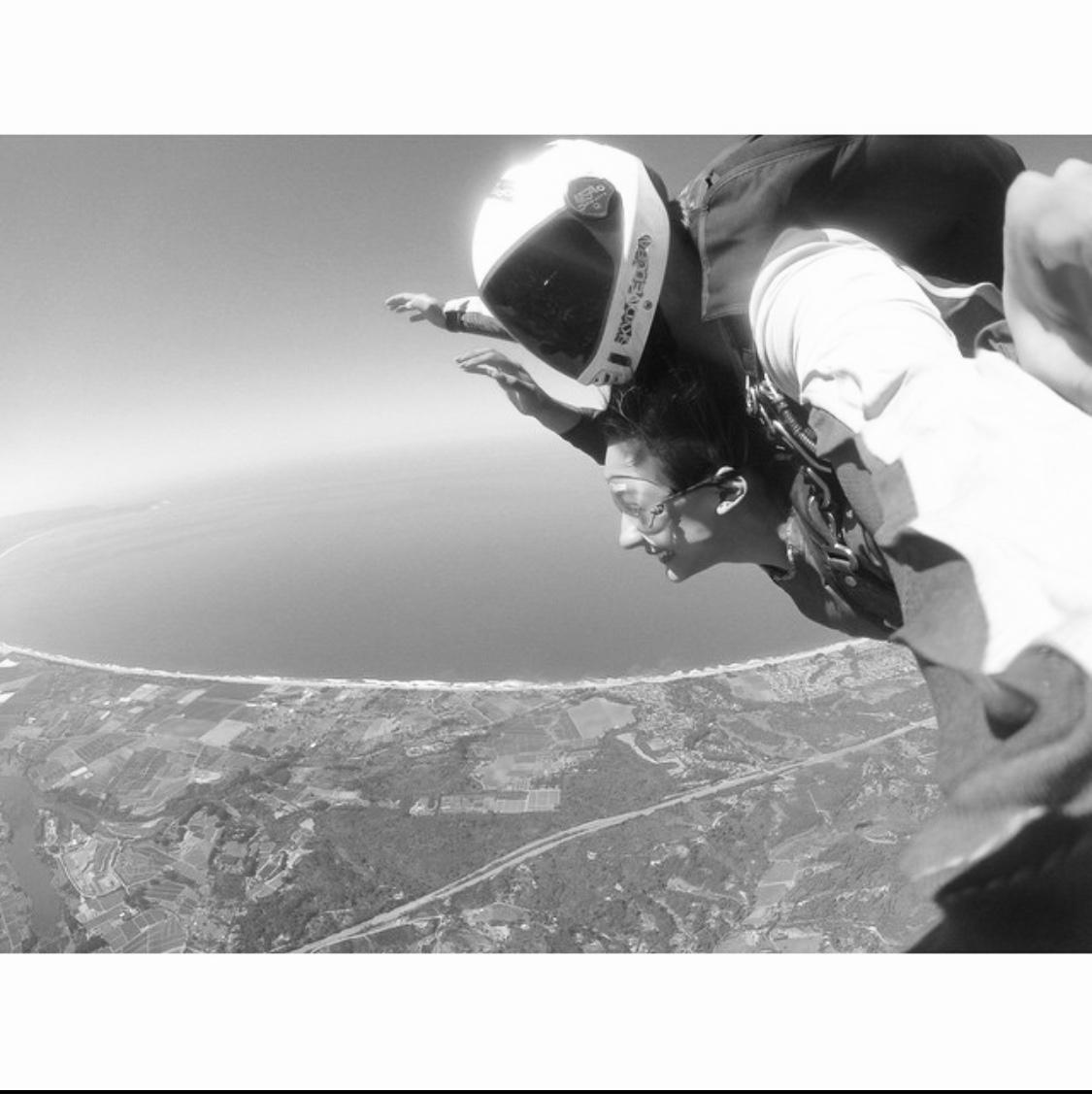 Skydiving in Santa Cruz