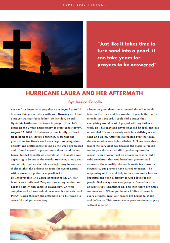Sept Prayer Blog 2