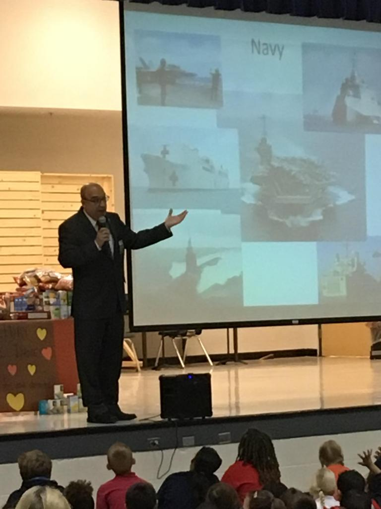 Veteran's Day Assembly - Colonel Sanchez, US Air Force