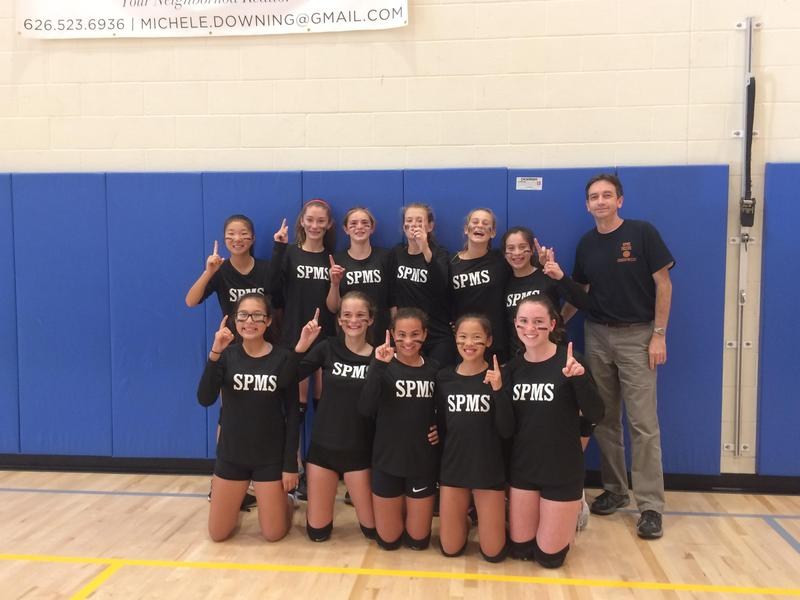 Congrats to our 7th Grade Girls Volleyball League Champions & Coach McCoy Featured Photo