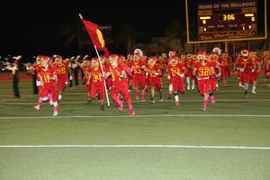 HHS Football Enters