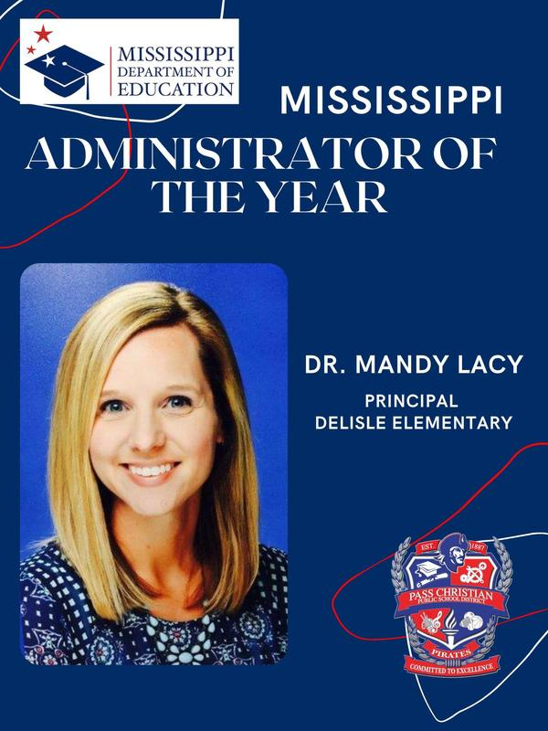 MDE Admin of the Year-Dr. Lacy