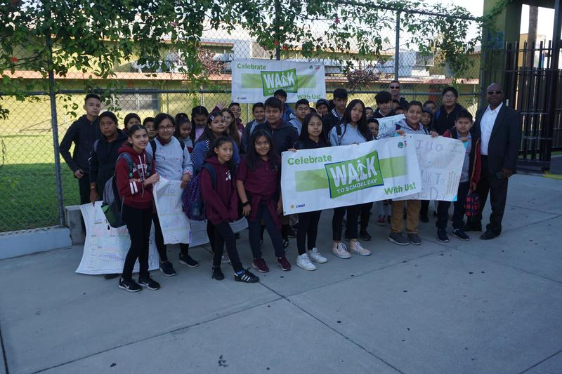 Walk to School Day 2019 Thumbnail Image