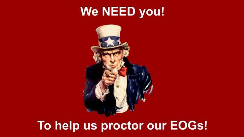 Proctors Needed! Featured Photo
