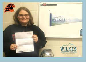 WCC Student of the Month