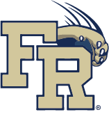 Franklin Regional official block letter logo with slash panther paw (registered trademark)