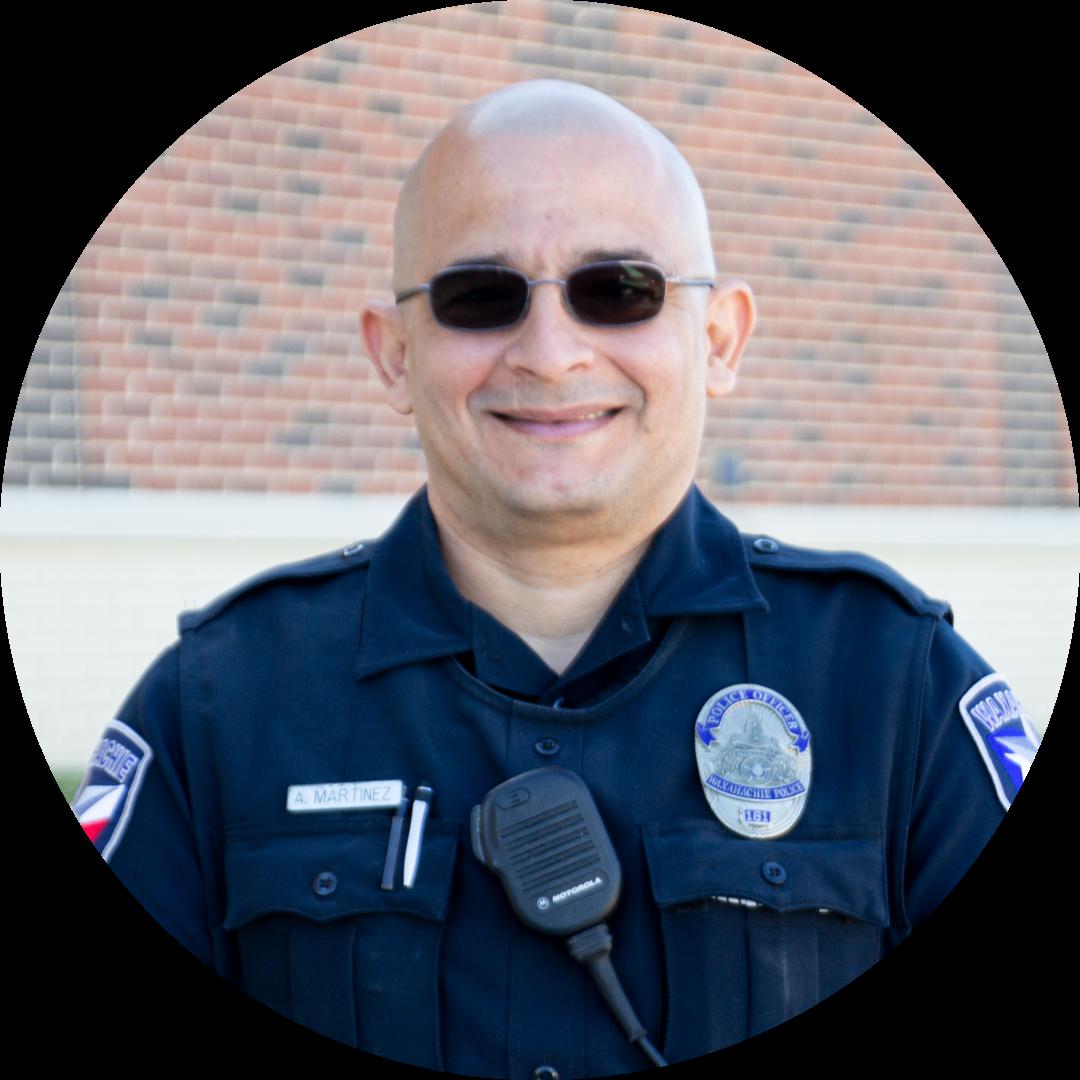 headshot of officer martinez