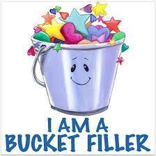 """""""I am a bucket filler"""" cartoon"""