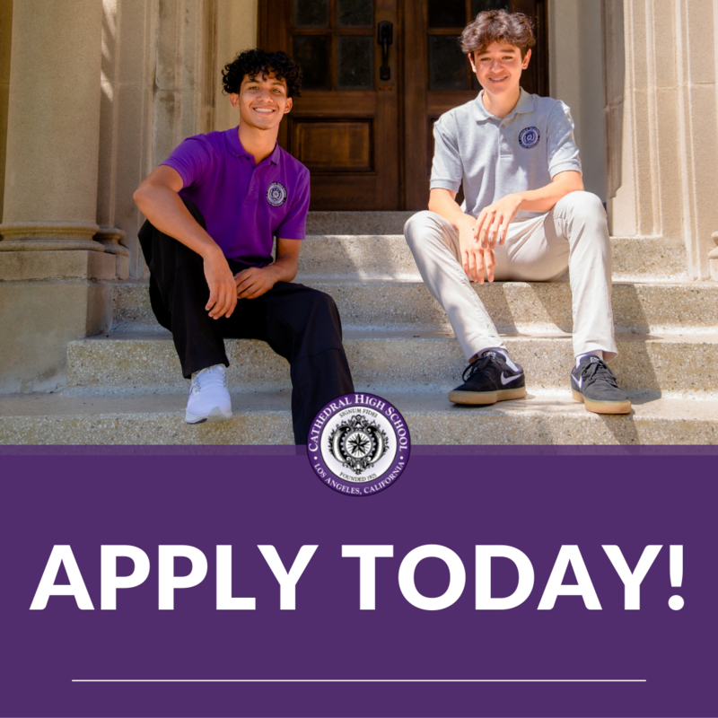 Cathedral High School is now accepting applications for the class of 2026! Featured Photo