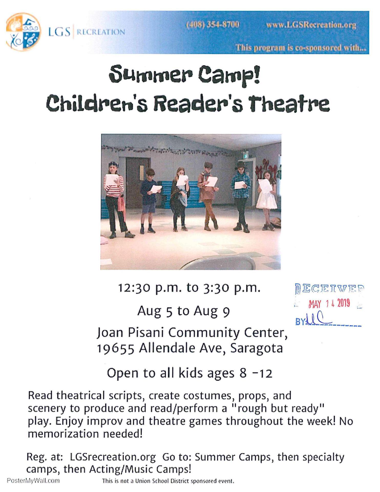 Children's Readers Theater
