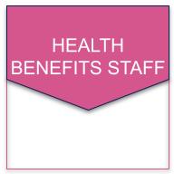 health benefits staff