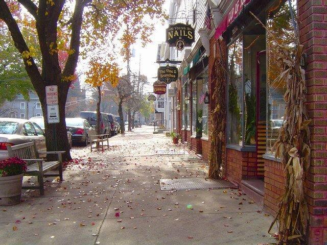 Main Street in Pennington NJ