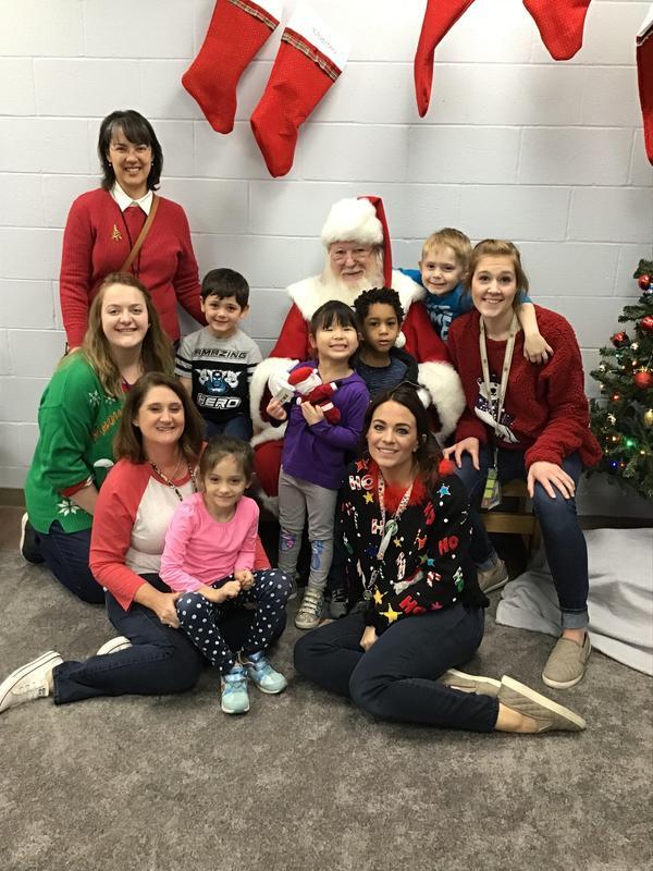 Santa Claus visit to TSDN