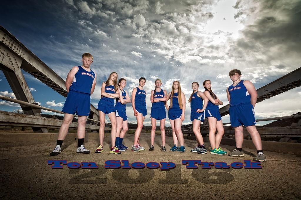 2016 High School Track Team