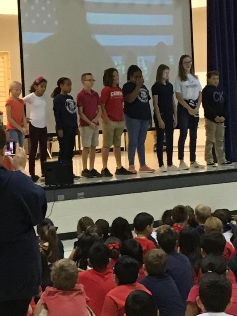 Veteran's Day Assembly - Sign Language Interpretation