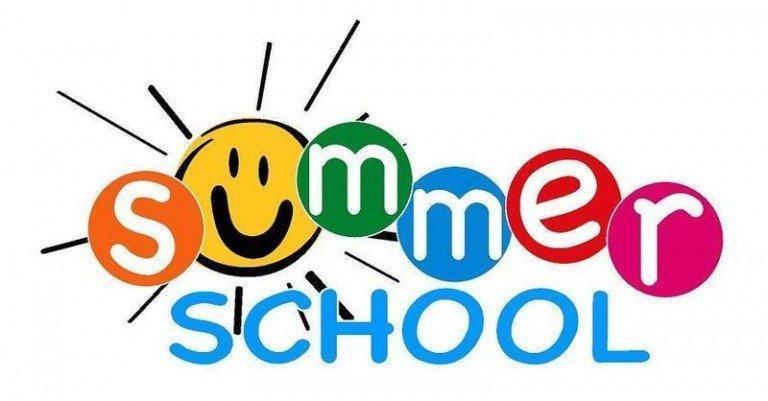 image saying summer school