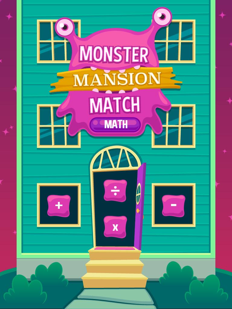 Monster Mansion Math